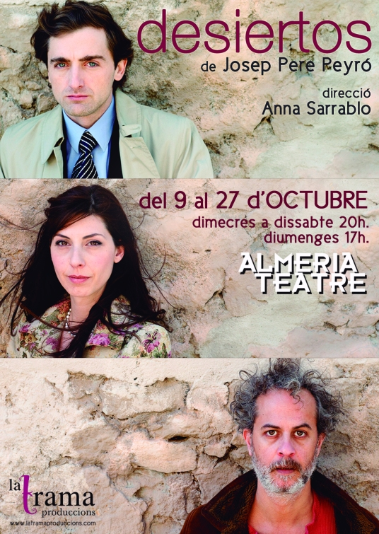 Flyer Desiertos Almeria Teatre